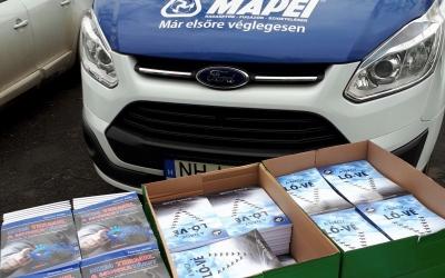 Mennyit vásárolt a Mapei Kft?
